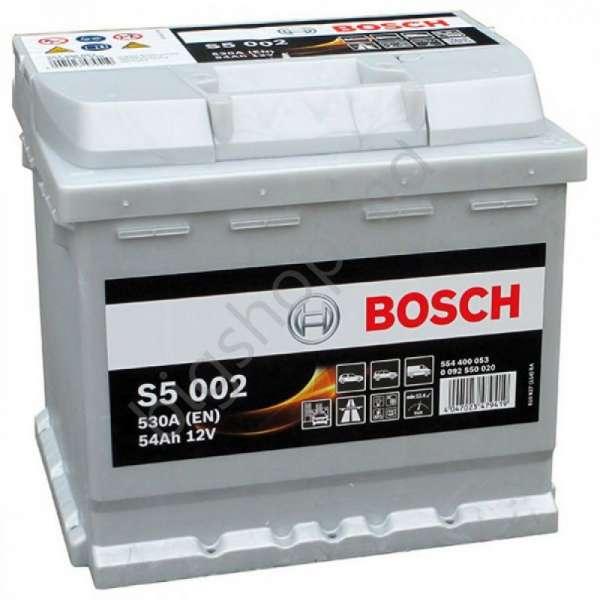 Baterie Bosch 12V 54AH/530A L- 207X175X190 S5