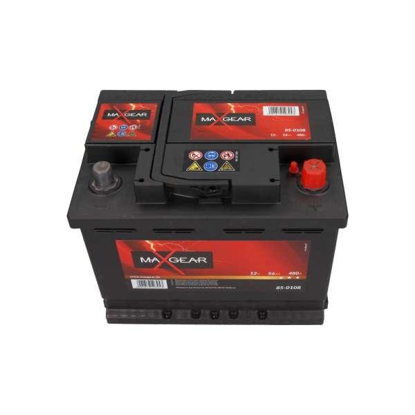 Baterie Auto Maxgear 12V 56AH/480A L- 242X175X190