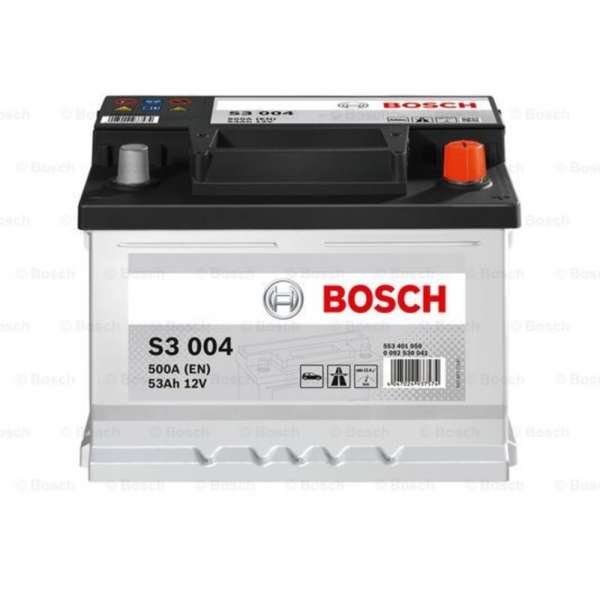 Baterie Auto Bosch 53AH 500A L- 242X175X175
