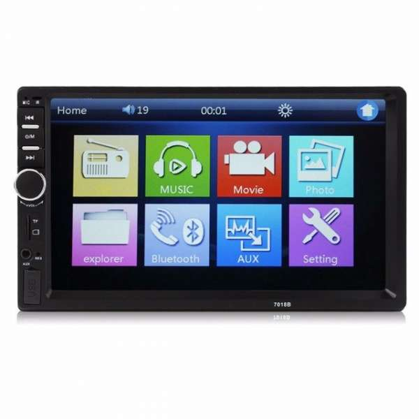 Navigatie /Dvd 2din Player Mp3/Mp5 Multimedia Touch screen Mp5,Bluetooth Tv, Usb ,Radio