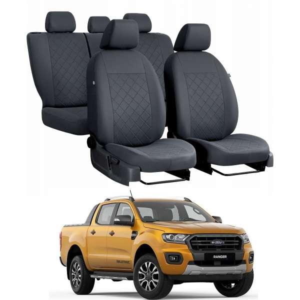 Huse Scaune Ford Ranger 5 locuri  2017-2019 double cab