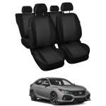 Huse Scaune Dedicate  Honda Civic sedan/hatchback 2015-2019 eco
