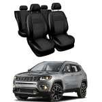 Huse Scaune din piele si material textil Jeep Compass 2012-2019