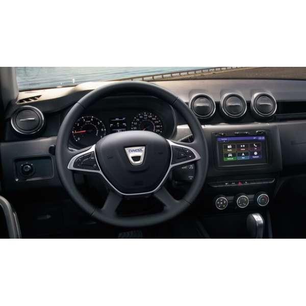 Husa Volan din piele naturala Dacia Duster 2018-2019 dedicata