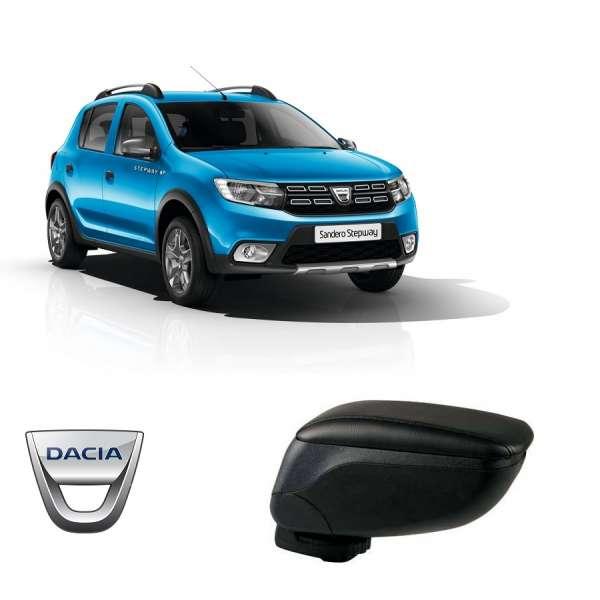 Cotiera Reglabila Dacia Sandero/Sandero Stepway 2008-2015 Din Piele Eco Premium