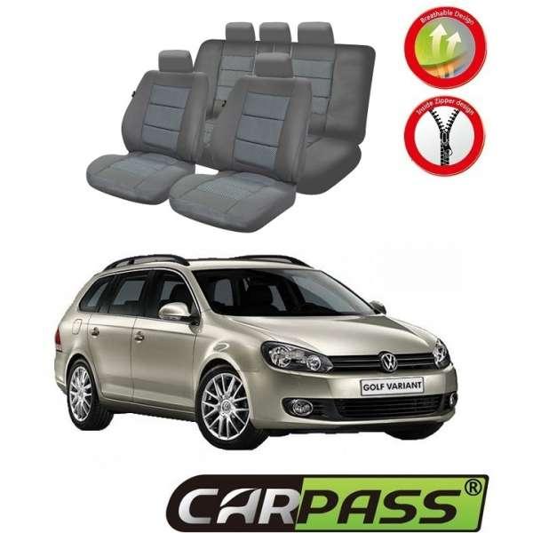Huse Scaune Dedicate Vw Golf 6 2012 Variant/Hatchback Premium