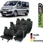 Huse Scaune Dedicate Opel Vivaro 8+1 Locuri 2001-2014 Premium