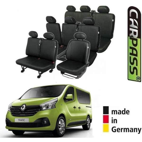 Huse Scaune 9 Locuri (8+1) Renault Trafic 2014-2017 Premium