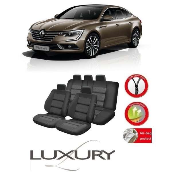 Huse Scaune Dedicate Renault Talisman 2015-2017 Premium