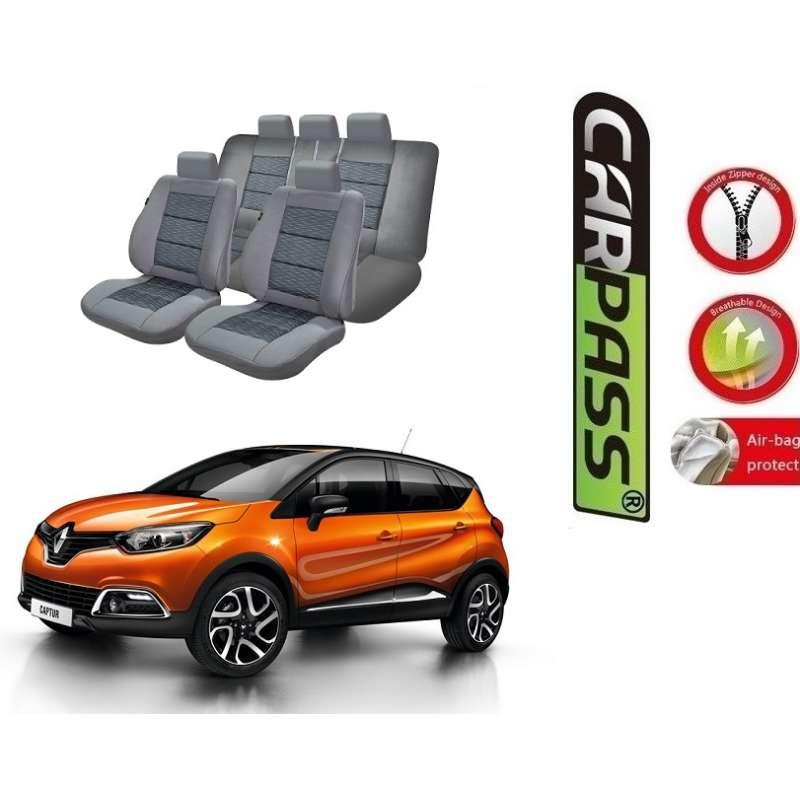 Scaune Renault.Huse Scaune Dedicate Renault Capture 2009 2016 Premium
