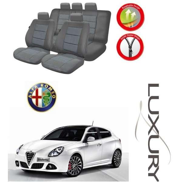 Huse Scaune Dedicate Alfa Romeo Giulietta 2010-2016  Premium