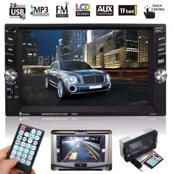 Dvd Player Auto Multimedia Touch screen Mp5,Bluetooth Tv, Usb Compatibil Vw Passat B6 2005-2009.