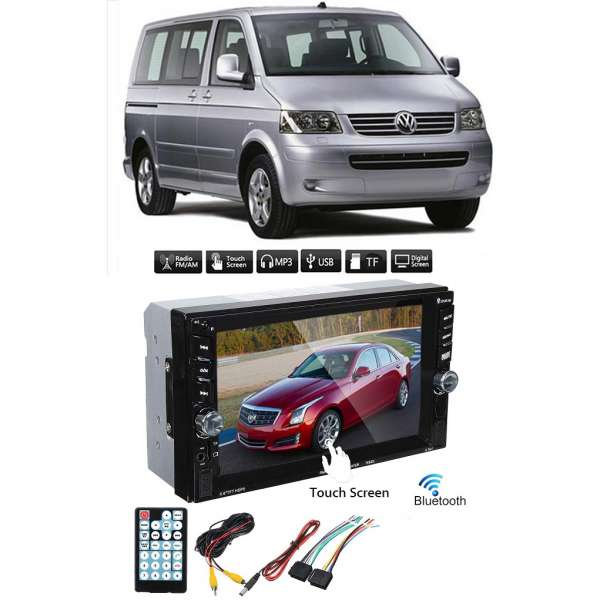 Dvd Player Auto Multimedia Touch screen Mp5,Bluetooth Tv, Usb Compatibil Vw Transporter/Caravelle 2005-2013