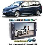 Dvd Player Auto Multimedia Touch screen Mp5,Bluetooth Tv, Usb Compatibil Vw Touran 2004-2012