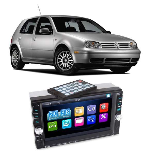 Dvd Player Auto Multimedia Touch screen Mp5,Bluetooth Tv, Usb Compatibil Vw Golf IV 1997-2004