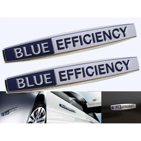 Emblema Metalica Blue Efficiency pentru Mercedes