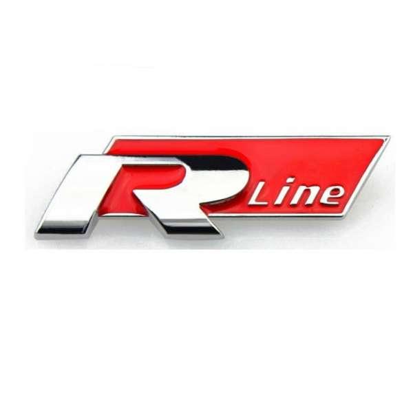 Emblema Metalica R-line pentru Vw