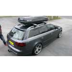 Bare portbagaj pentru Audi A4/S4 2001-2008 B5/B6/B7 avant combi din aluminiu cu sistem antifurt si cheie