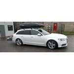 Bare portbagaj pentru Audi A6/S6/Allroad 2013-2017 avant combi din aluminiu cu sistem antifurt si cheie