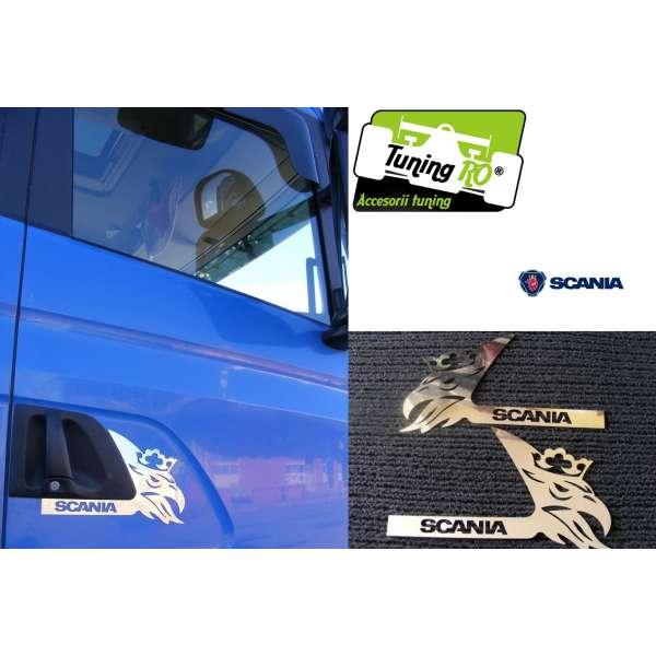 Ornament Maner Portiera Scania (inox)