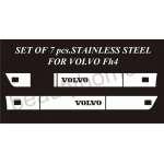 Ornament Spoiler Lateral Volvo FH 4 din inox