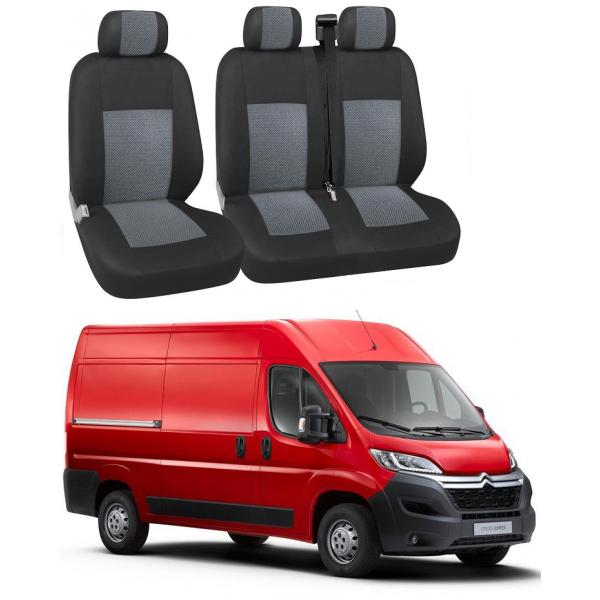 Huse Scaun Citroen Jumper 2018-2019  3 locuri Confort Line Premium.