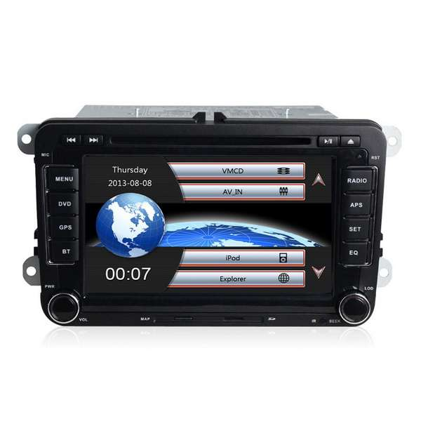 Navigatie dedicata Vw Passat b6/b7+ Camera mers inapoi + Card Harti full Europa 8 GB ,CanBus ,Wi-Fim  7 inch