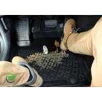 Covorase Auto Tavita Vw Phaeton 2004-2015 din cauciuc cu sistem de fixare in podea