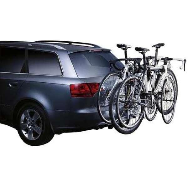 Suport biciclete ClipOn 9104 S3 pentru 3 biciclete cu prindere pe carlig de remorcare
