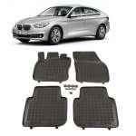 Covorase cauciuc Tavita BMW seria 5 GRAN TURISMO (F07) 2008-2016 cu sistem de fixare in podea