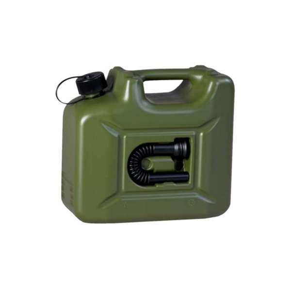 Canistra Plastic 10 L pentru combustibil cu furtun de alimentare Gama Profesionala