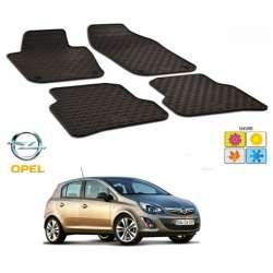 Set covorase auto Hitech  cauciuc Opel Corsa D 2006-2014