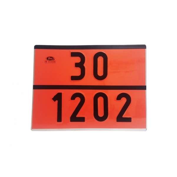 Placa Adr 30-1202  Diesel