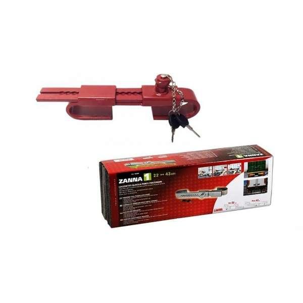 Antifurt Usii Spate Rosu Cu 2 Chei si Capac De Protectie 26,5-47cm