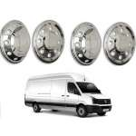 Capace Roti Inox Cromate R16 VW CRAFTER 2006-2017 Fata+Spate ( Set 4 buc)
