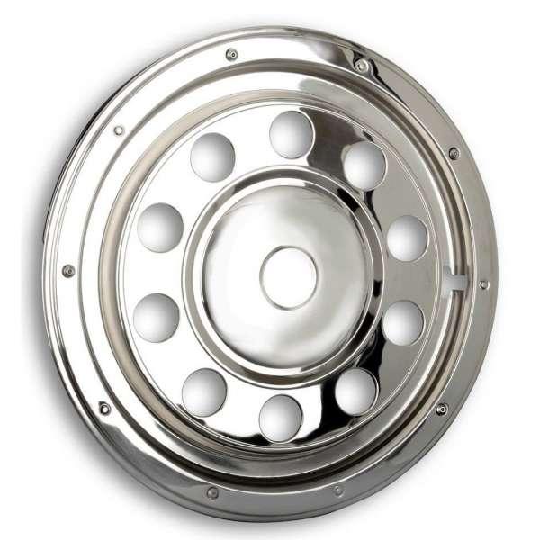 """Capace Roti Camion Tir 22,5"""" din Inox (Partea din Spate) Model 1"""