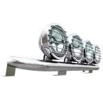 Bullbar/Bara Proiectoare Inox Cabina partea superioara Mercedes Atego