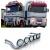 Bullbar/Bara Proiectoare Inox Cabina partea superioara Renault Magnum Euro 3/4/5