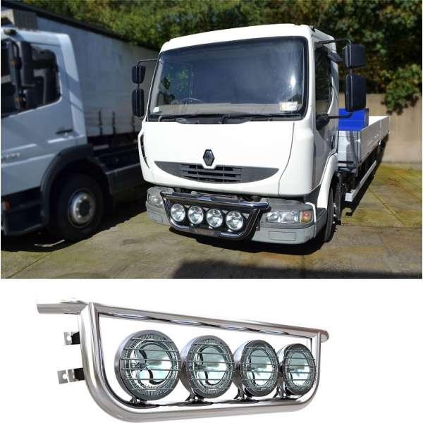 Bullbar/Bara Proiectoare Inox Grila Partea Inferioara Renault Midlum