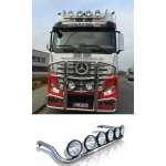 Bullbar/Bara Proiectoare Inox Cabina partea superioara Mercedes Actros Mp 4