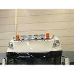 Bullbar/Bara Proiectoare Inox Cabina partea superioara Daf XF 105 EURO 6