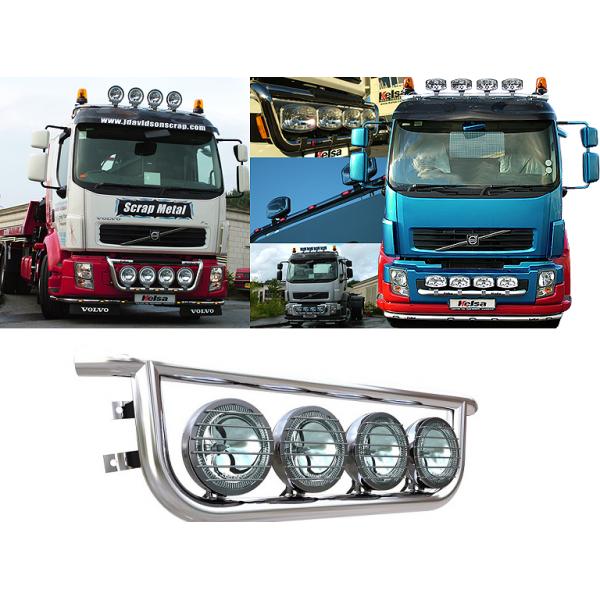 Bullbar/Bara Proiectoare Inox Grila Partea Inferioara Volvo FL
