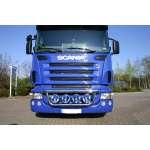 Bullbar/Bara Proiectoare Inox Grila Partea Inferioara Scania R/TOP LINE 2002-2015