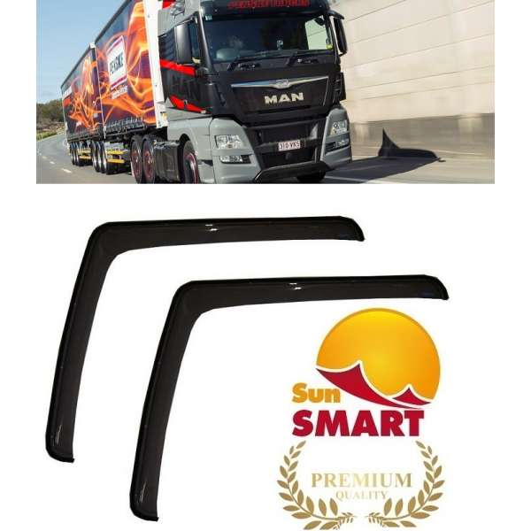 Paravanturi Sun Smart Man TGX  2013-2017 (Set 2 buc +sistem de prindere)