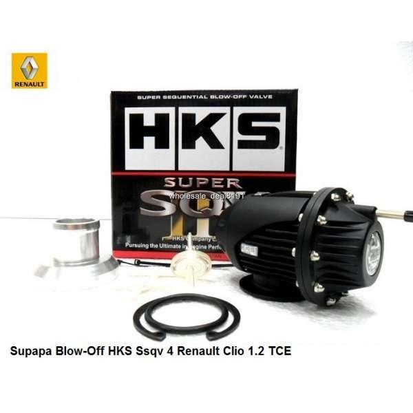 Supapa Blow-Off HKS Ssqv 4 Renault Clio 1.2 TCE