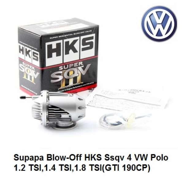 Supapa Blow-Off HKS Ssqv 4 VW Polo 1.2 TSI,1.4 TSI,1.8 TSI(GTI 190CP)