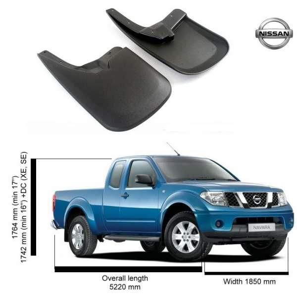 Set Aparatori Noroi Nissan Navara King Cab  2003-2015