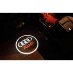 Proiectoare Logo Holograma  cu sigla Audi dedicat pentru Audi Q5,Q3
