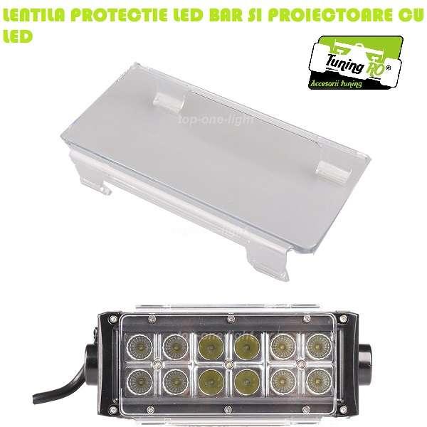 Lentile Protectie Proiectoare Led Bar 27-300w