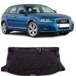 Covor  Protectie Portbagaj Audi A3 Sportback (8V) (cu roata de rezerva) 2012-2014